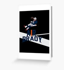 Air Brady Greeting Card