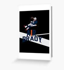 Air Brady Greeting Card