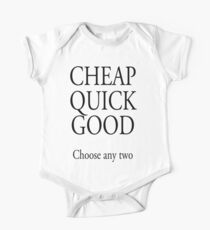BUILDER, TRADESMAN, BUSINESS, CHEAP QUICK GOOD, Self employed, choose any two in business Kids Clothes