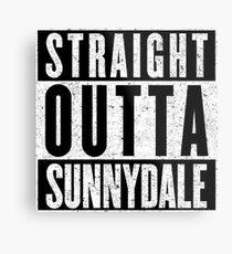 Sunnydale Represent! Metal Print