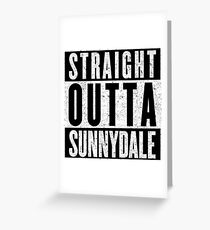 Sunnydale Represent! Greeting Card