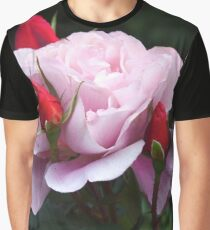 Rose and Buds Graphic T-Shirt