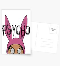 "Louise ""Psycho"" Blecher Postcards"