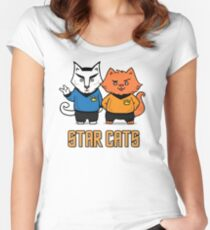 Star Cats Women's Fitted Scoop T-Shirt