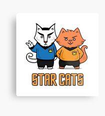 Star Cats Metal Print