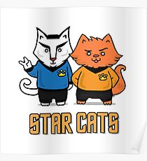 Star Cats Poster
