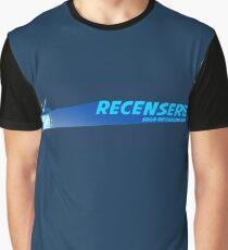 Recenserie Logo Full Graphic T-Shirt