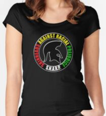 S.H.A.R.P. - Skinheads Women's Fitted Scoop T-Shirt