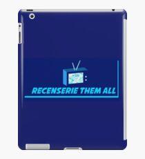 Recenserie Them All iPad Case/Skin
