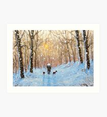 The short cut home.. Art Print