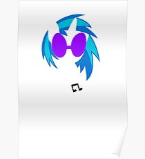 My Little Pony - Vinyl Scratch Blend Poster