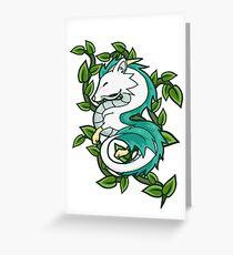 Haku // Spirited Away Greeting Card