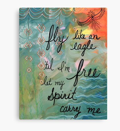 Spirit carry me Canvas Print