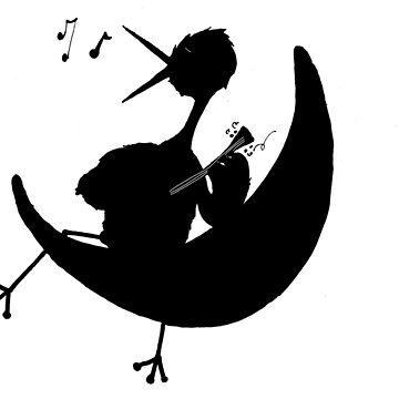 Night bird by LucyNuzit
