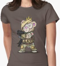 Cuddlesign Princess Womens Fitted T-Shirt