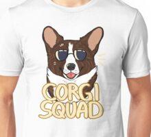 CORGI SQUAD (brindle) Unisex T-Shirt