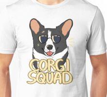 CORGI SQUAD (black) Unisex T-Shirt