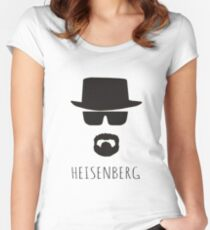 Heisenberg 'Walter White' Women's Fitted Scoop T-Shirt