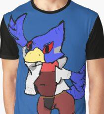 Falco Pixel Regular  Graphic T-Shirt
