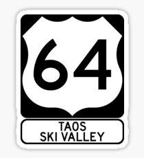 US64 - Taos Ski Valley Sticker