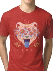 Eyes of the Tiger Tri-blend T-Shirt