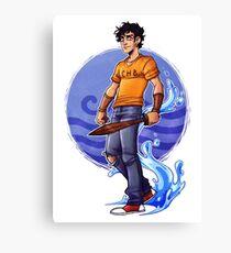 Percy Jackson - son of Poseidon Canvas Print