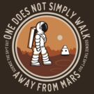 Not Simply Walk Away from Mars by sirwatson