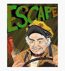 Cabbie's Escape! Photographic Print