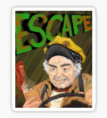 Cabbie's Escape! Sticker