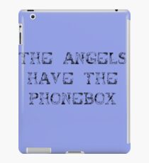 The Angels Have the Phonebox (sticker) iPad Case/Skin