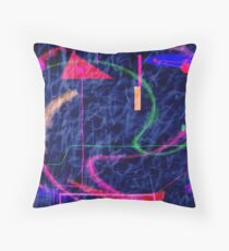 Kandinsky, fuzzy logic and chaos theory Throw Pillow