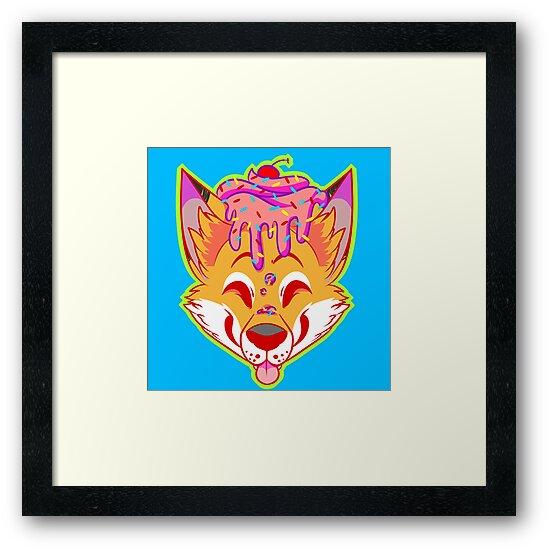 Cupcake Fox by CupcakeCreature