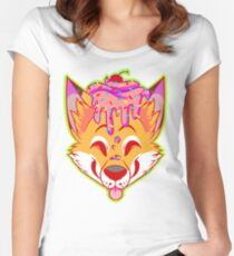 Cupcake Fox Women's Fitted Scoop T-Shirt