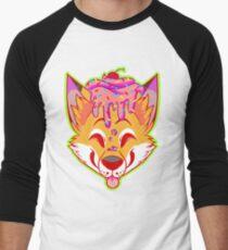 Cupcake Fox Men's Baseball ¾ T-Shirt