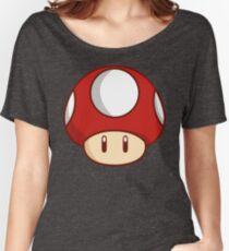 Mario Mushroom Women's Relaxed Fit T-Shirt
