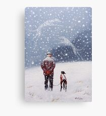 Remembering Christmases Past Canvas Print