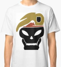Rambo skull Classic T-Shirt