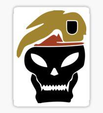 Rambo skull Sticker
