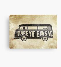Take it Easy - Tribute Metal Print