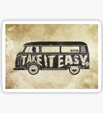 Take it Easy - Tribute Sticker