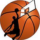 Slam Dunk Basketball Player by Gravityx9