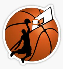 Slam Dunk Basketball Player Sticker