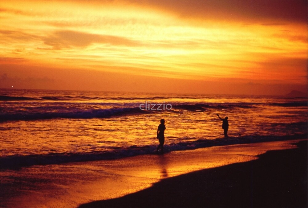 Sunset in Mexico by clizzio