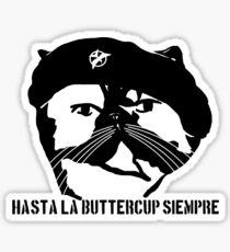 Hasta La Buttercup Siempre Sticker
