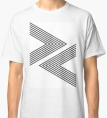 Rock, Paper, Scissors - Charcoal Classic T-Shirt