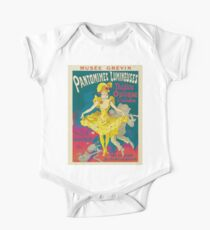 Theatre Optique, French Theater Poster One Piece - Short Sleeve