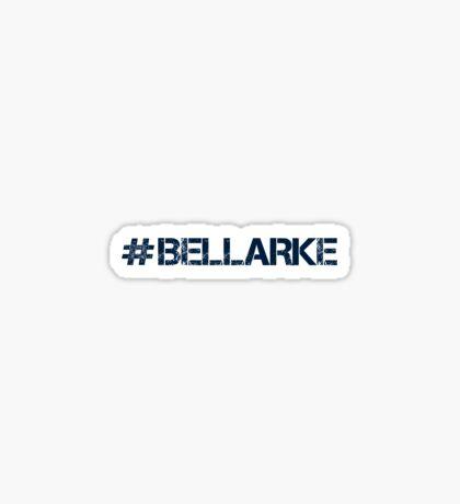 #BELLARKE (Navy Text) Sticker