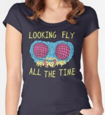 Looking Fly Women's Fitted Scoop T-Shirt