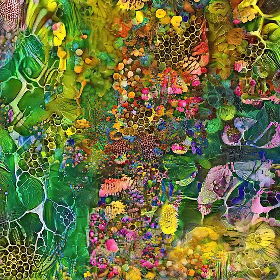 Deepdream abstraction