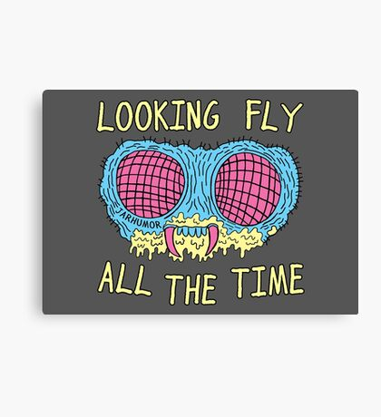 Looking Fly Canvas Print
